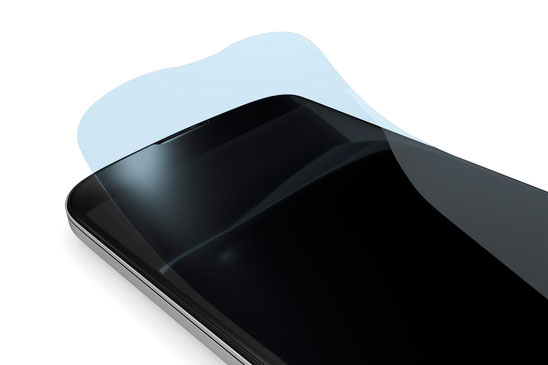 Smartphone with screen protector